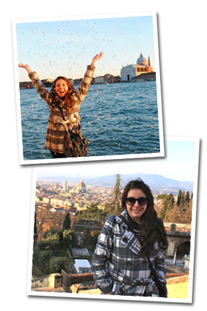 Pictures of Jennifer Kadragich in Florence