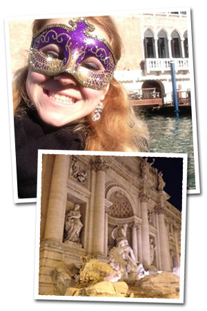 Photos of Samantha Faul in Italy