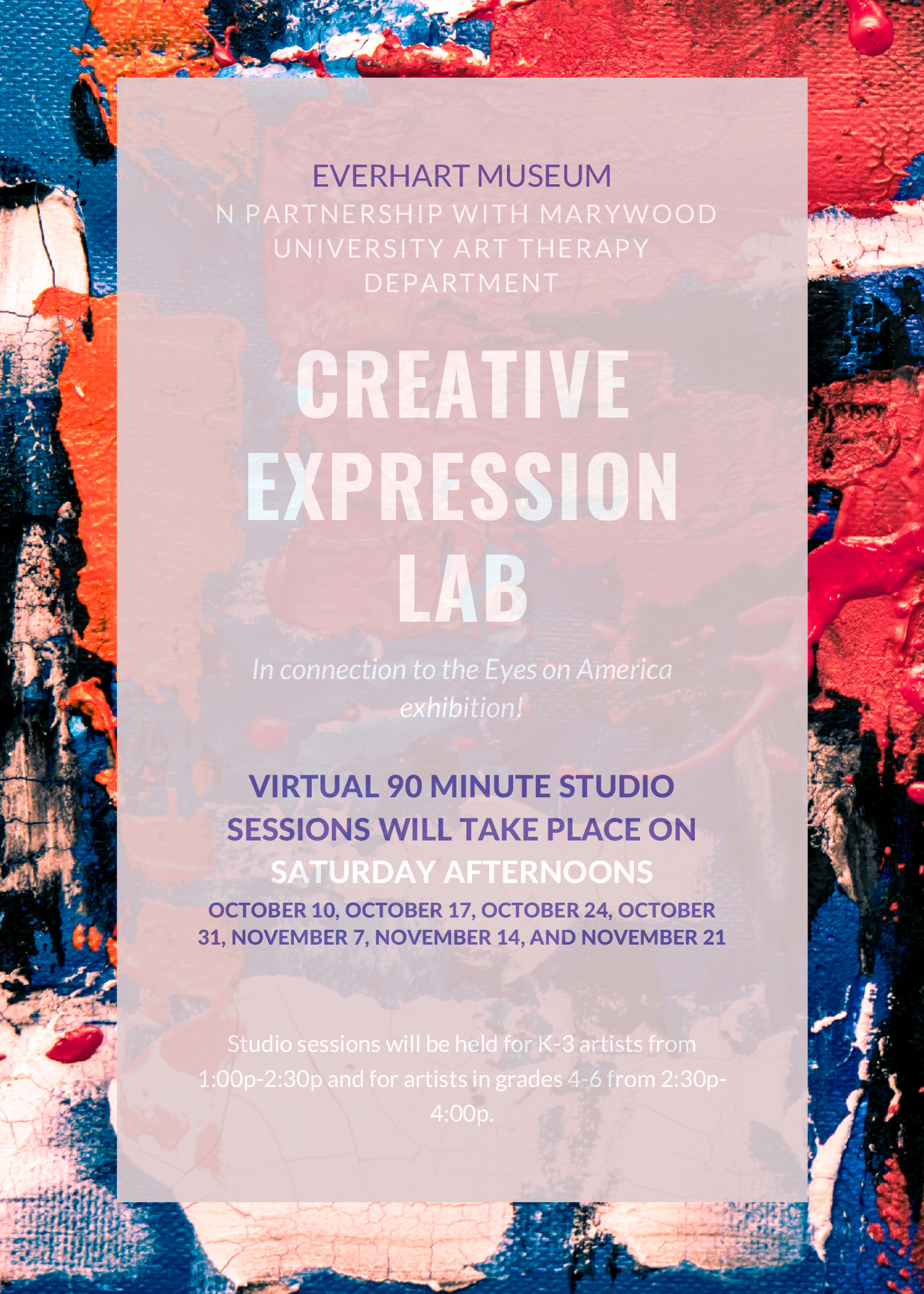 Creative Expression Lab Program at Everhart