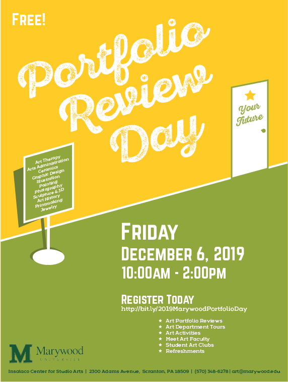 Art Portfolio Review Day 2019 - FLYER