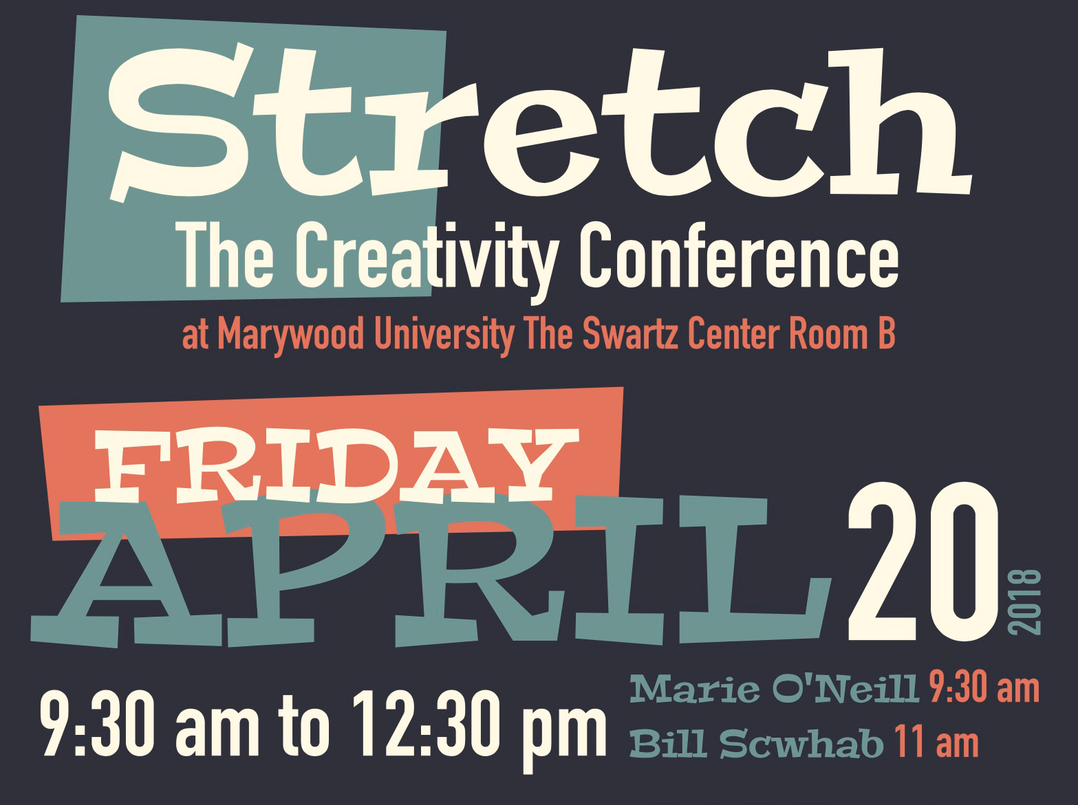 Stretch: The Creativity Conference at Marywood University