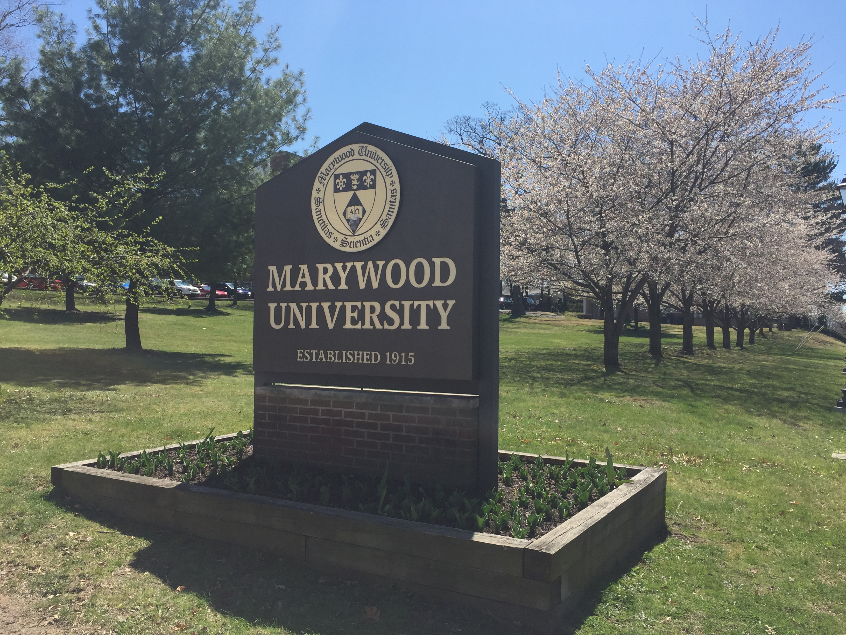 Marywood Sign