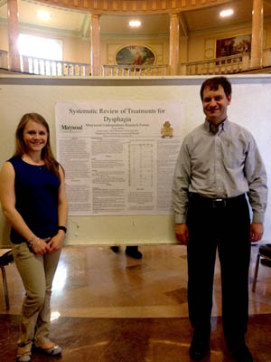 Amelia DeMasi and Dr. Bruce Wisenburn present research in LAC