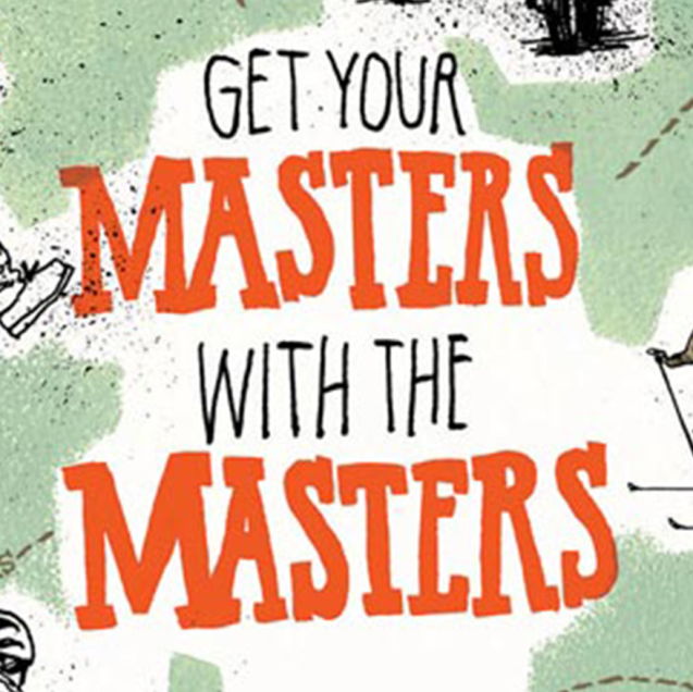 get your masters with the masters