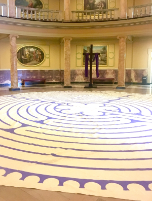 The Annual Labyrinth Walk takes place from now until Feb. 27