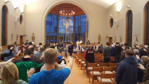 Mass at Marywood's Marian Chapel