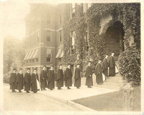 Marywood College: First Commencement