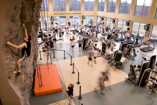 Rock Climbing Wall & Fitness Center