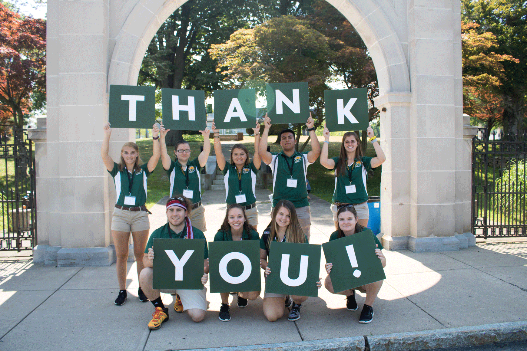 Marywood students thank you!