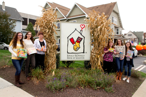 csd students outside of ronald mcdonald house