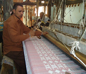 fair trade jacquard technique