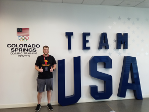 Nick Macano at the Team USA Symposium in Colorado Springs