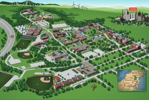 scranton university campus map Visiting Marywood Marywood University scranton university campus map