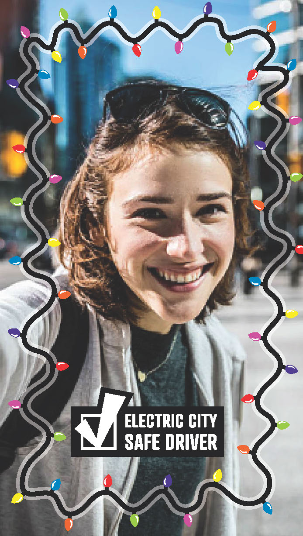 electric city safe driver snapchat filter