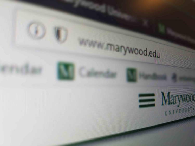 marywood mobile site