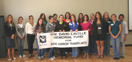 csd students at Bone Marrow Drive in Memory of David Lavelle