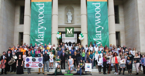 Marywood Community Magazine Cover
