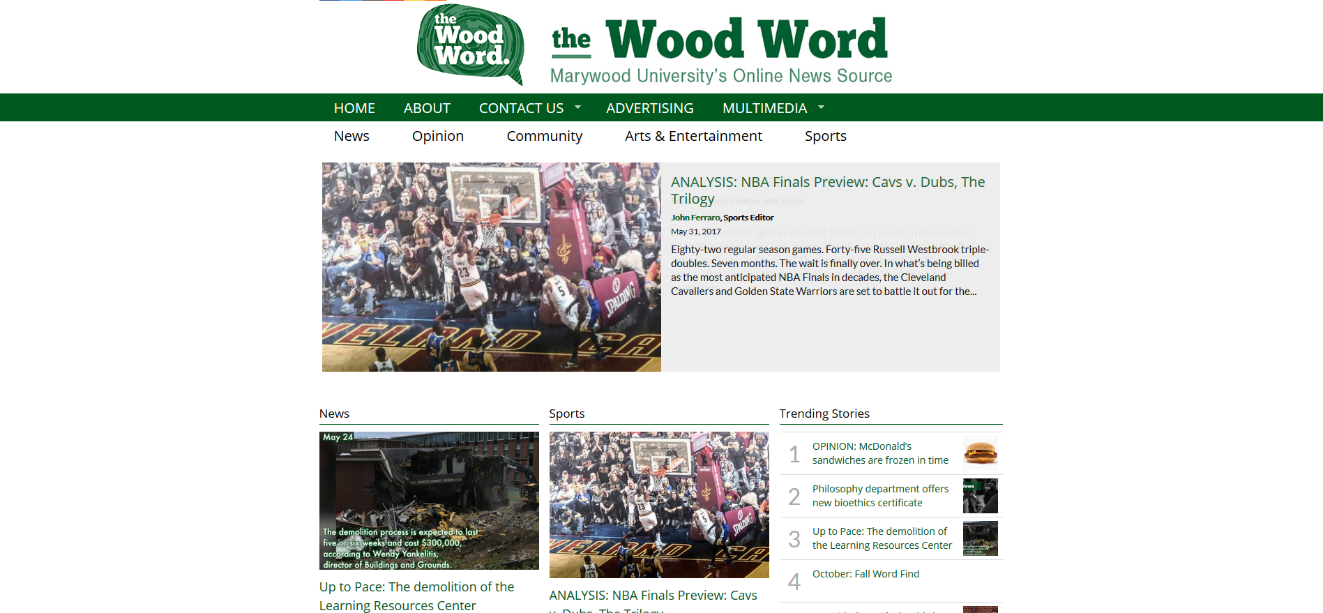 the wood word website