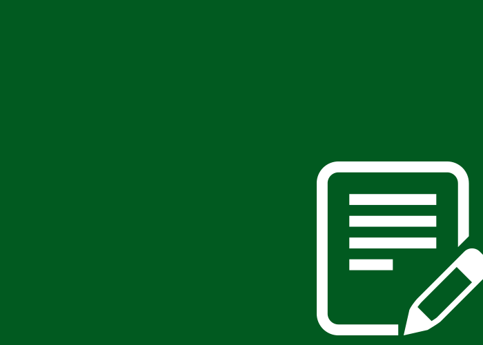 green solid document icon