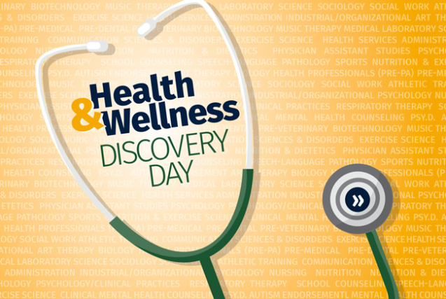 Health & Wellness Discovery Day with stethoscope