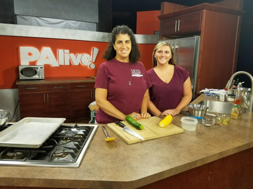 intern on pa live cooking