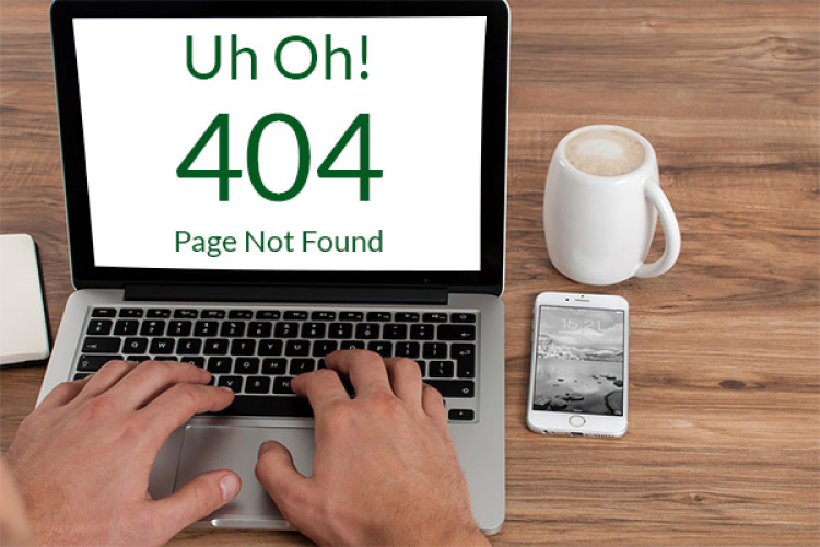 laptop uh oh 404 screen page not found