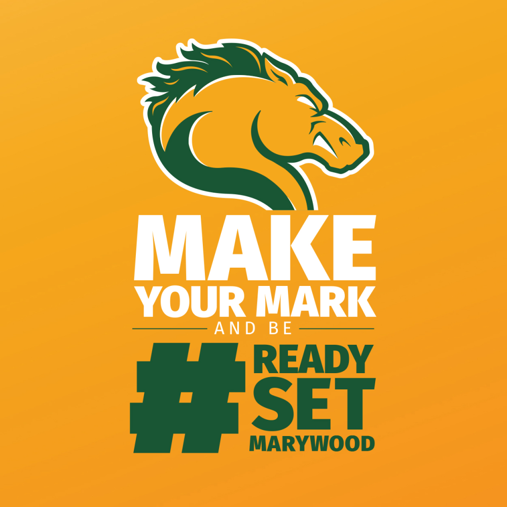 Make Your Mark and be #readysetmarywood pacer head