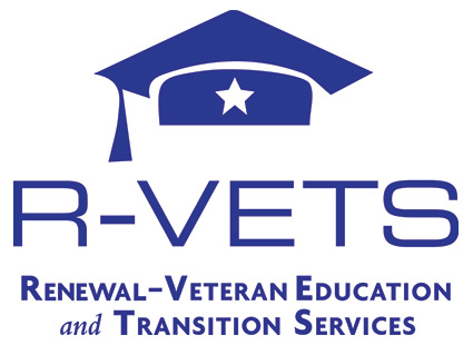 Renewal-Veteran Education and Transition Services (R-VETS) Logo
