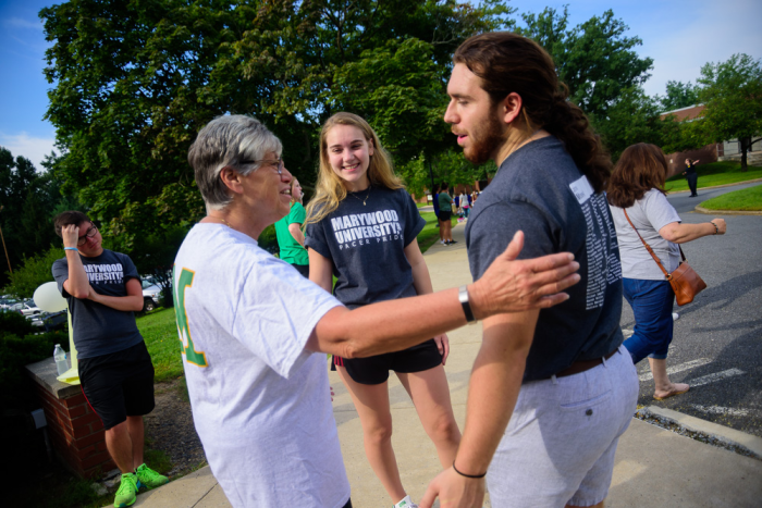 photo of  Sister Mary Move-in Day 2018