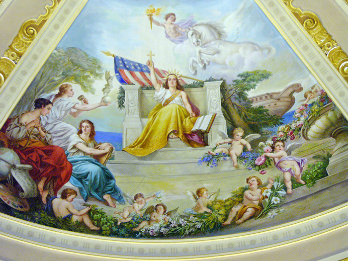 mural of Christian Education