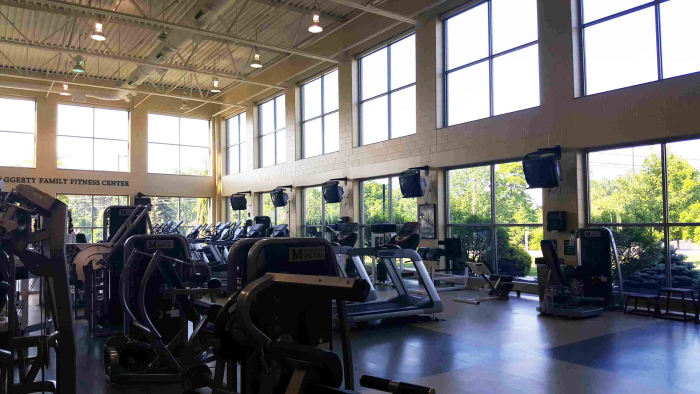 athletics fitness center