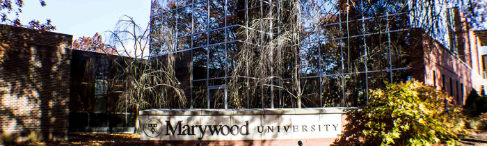 mcgowan building marywood sign