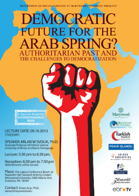 Democratic Future for the Arab Spring?