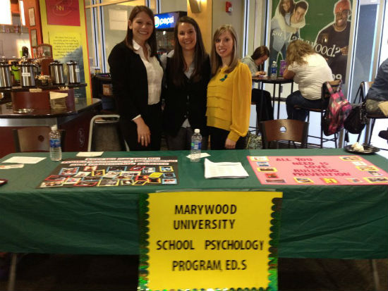 "School Psychology Students at Marywood University's ""Release the Light"""
