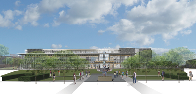 The Learning Commons rendering