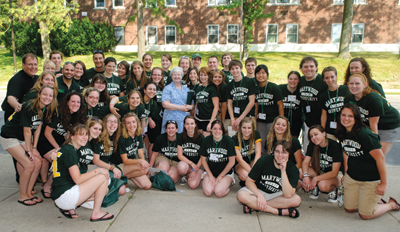 Sister Anne with Orientation Committee