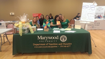 Marywood University health fair