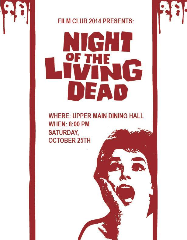 Night of the Living Dead Event Flyer