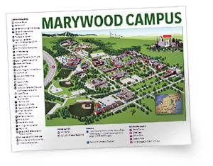 Marywood Campus Map