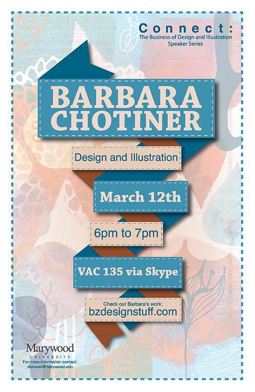 Barbara Chotiner Connect Speaker Poster