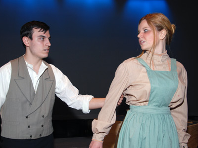 The character development and setting in a performance of miss julie a play by august strindberg