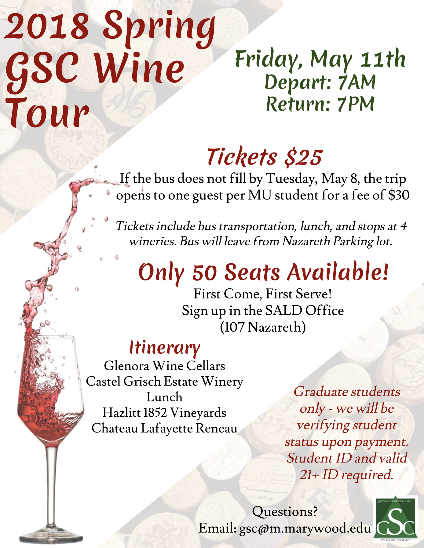 Wine Tour poster