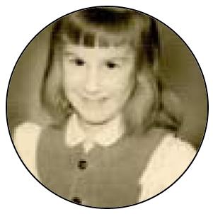 Photo of Melanie Hall as a child