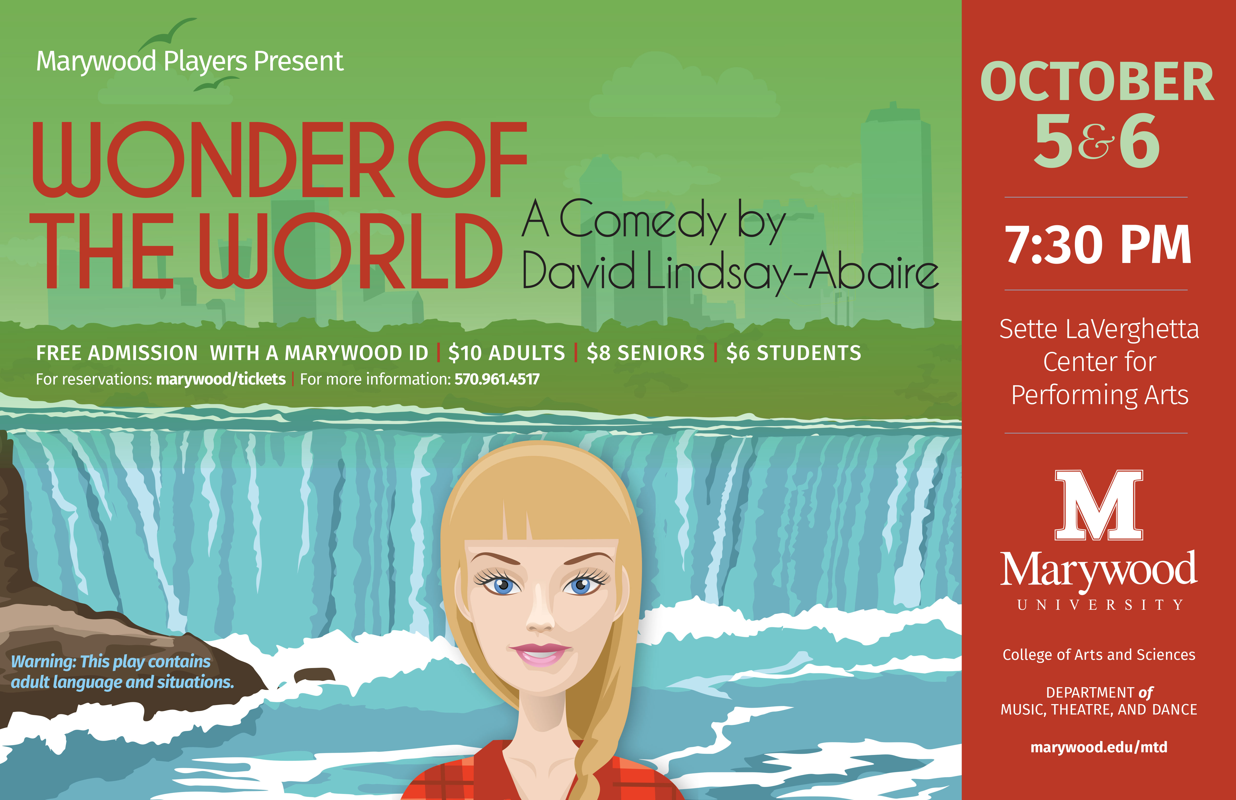 Fall Theatre Performance: Wonder of The World