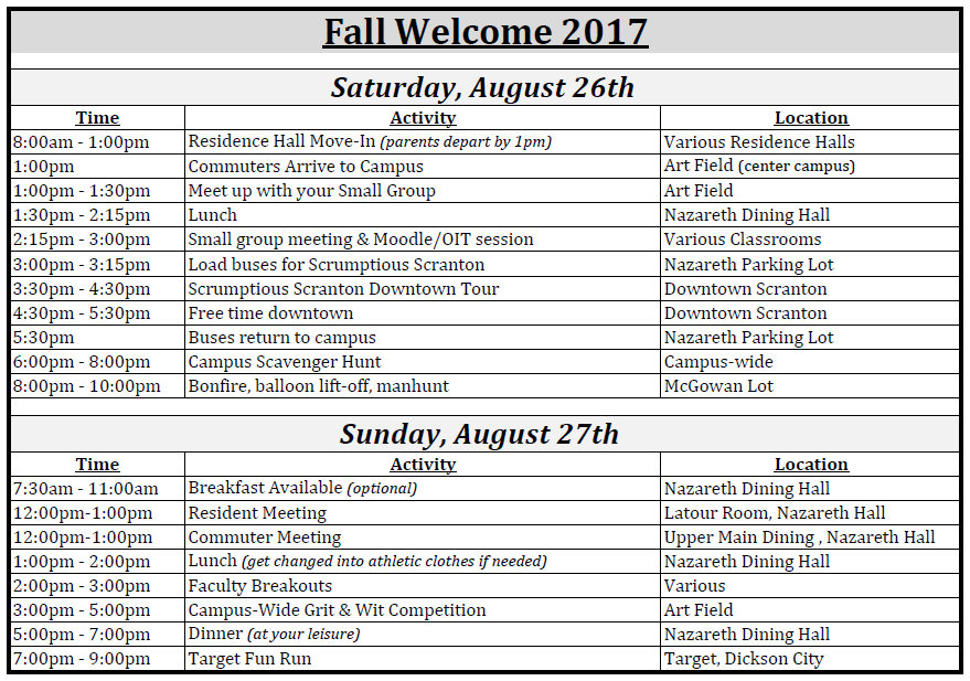 Fall Welcome 2017 updated