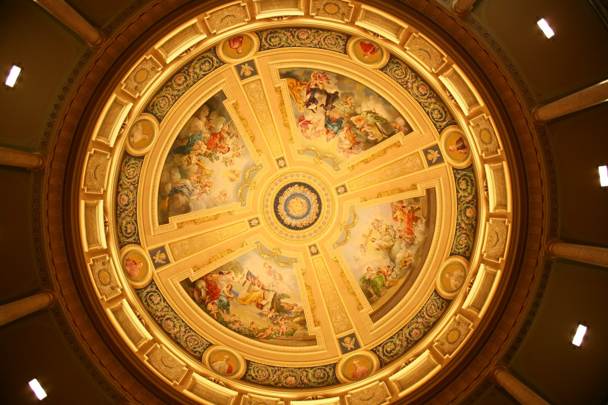 The Mural of Justice and Chastity