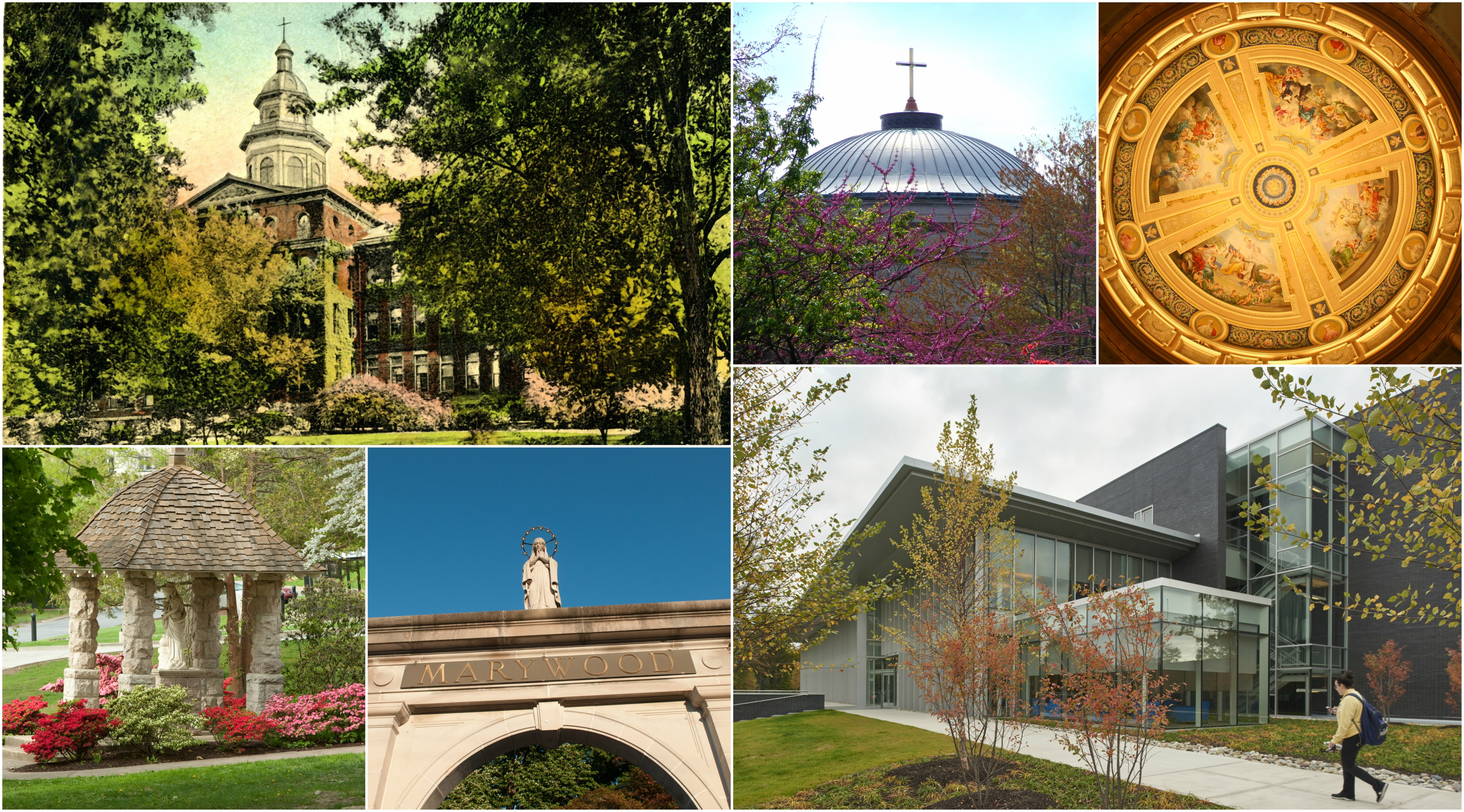 Marywood image collage