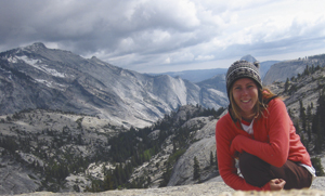 Photo of Rebecca Ryals at Yosemite