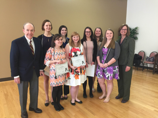 2016 BSW Alpha Delta Mu Honor Society Inductees
