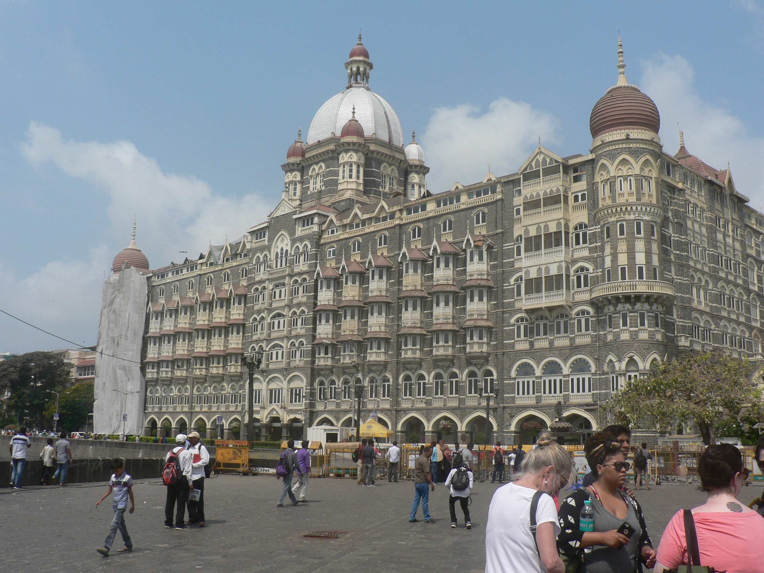 Mumbai s history and architecture at Taj Mahal Palace